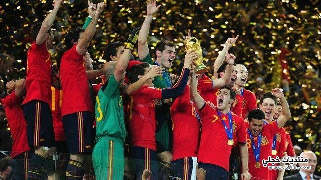 منتخب اسبانيا العالم 2014 منتخب
