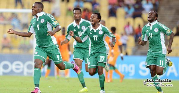 منتخب نيجيريا العالم 2014 منتخب