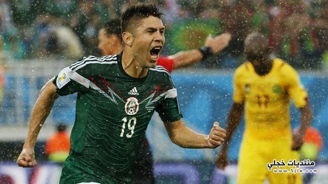 المكسيك الكاميرون العالم 2014