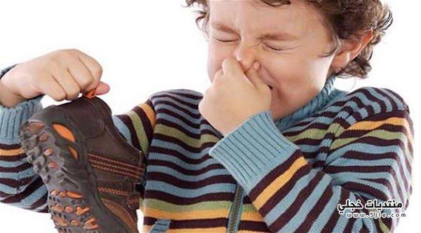 علاج رائحة القدمين