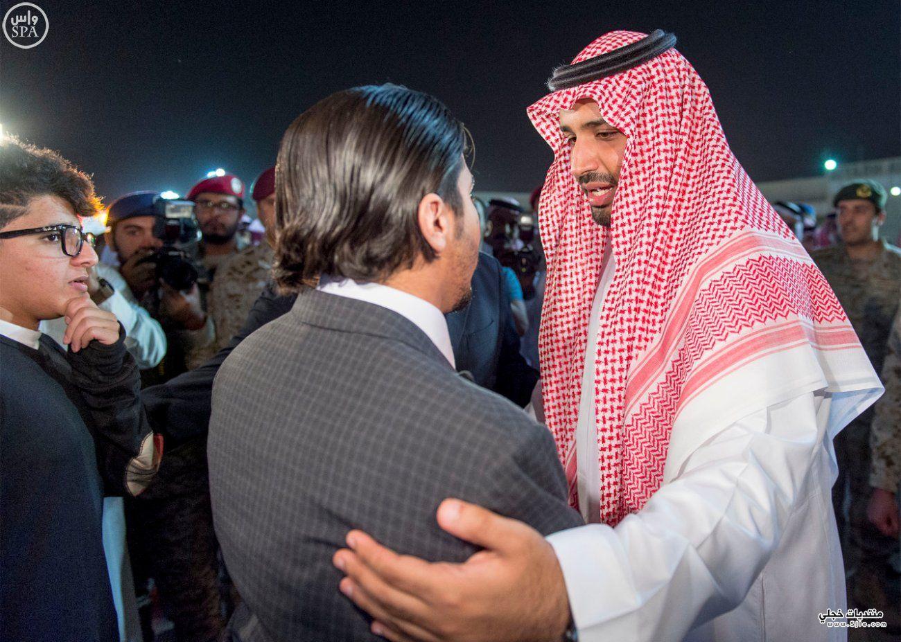 محمد سلمان يتقدم مستقبلي جثمان