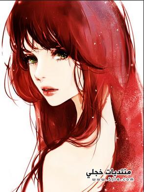انمي بشعر احمر