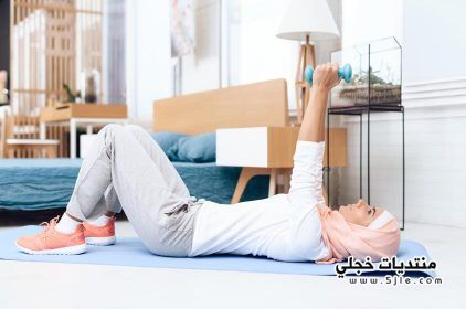 تمارين رياضية لحرق الدهون