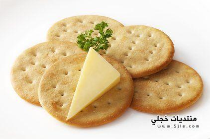 الجبنة الكراكرز