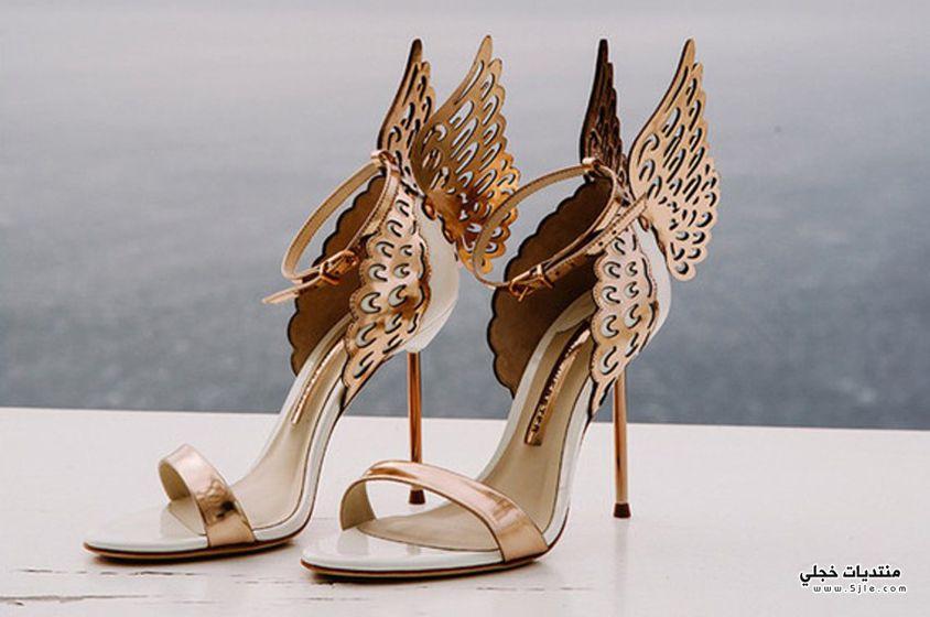 احذية ذهبية 2018
