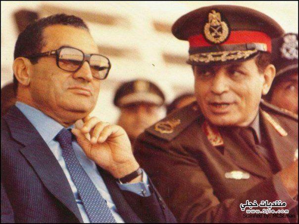 نادرة للرئيس السابق محمد حسني