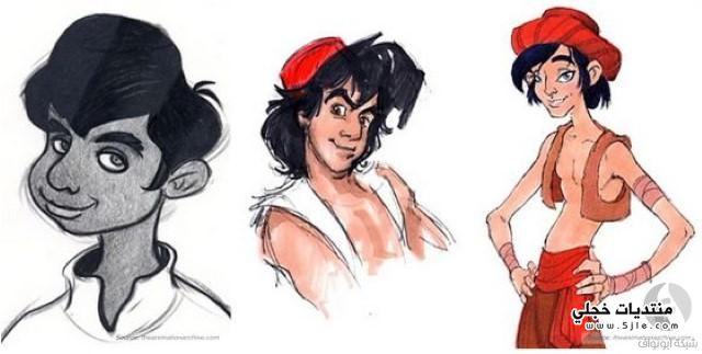 رسومات ديزني شخصيات ديزني ديزني