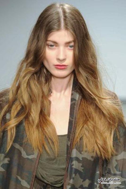 صبغة الشعر المتدرجة صبغات صبغة