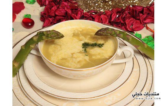 حساء الهليون طريقة تحضير حساء