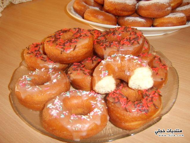 طريقة الدونات دونات رمضان طريقة