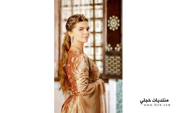 مكياج السلطانة مريم بطلة حريم