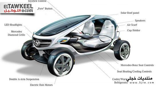 مرسيدس تصمم سيارة خاصة لرياضة