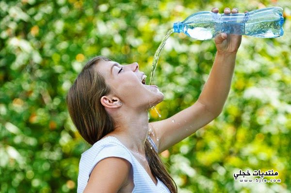احتباس الماء الجسم الصيف