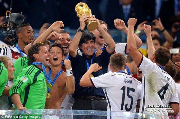 تتويج العالم المنتخب الالماني 2014