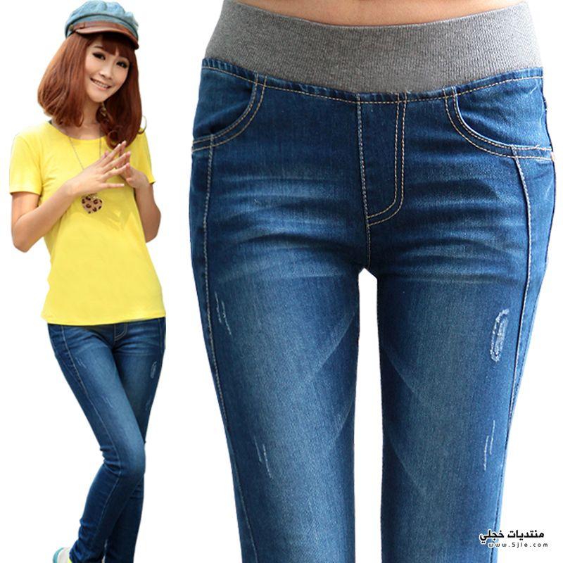 موضة الجينز النسائية جينز نسائي