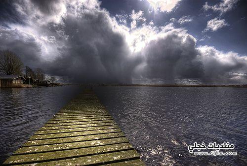 للمطر والغيوم الشتاء امطار وغيوم