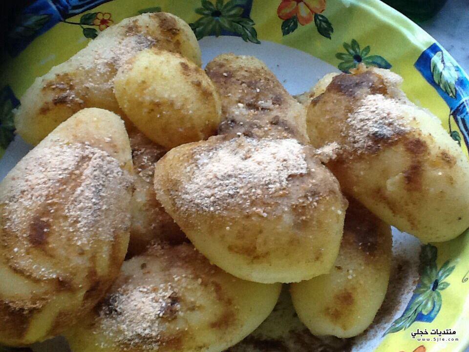 البطاطا بالفرن طريقة البطاطا بالفرن