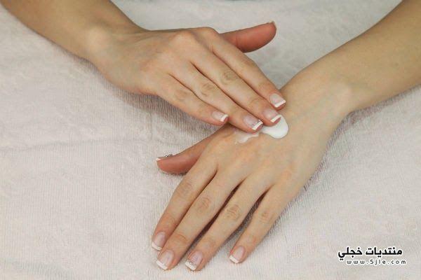نصائح لحماية اليدين الجفاف طريقة