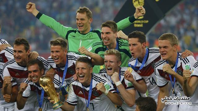 المانيا تفوز بكاس العالم 2014