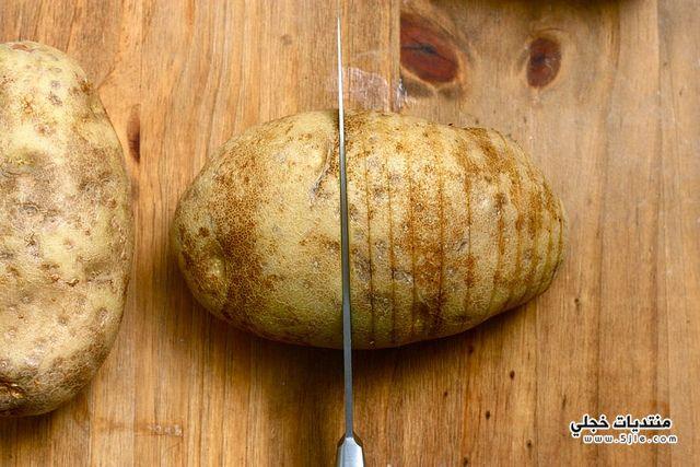 طريقة بطاطس الجبن
