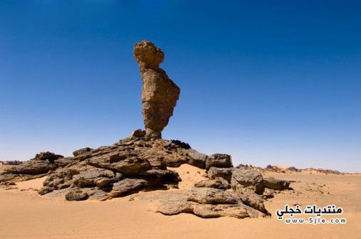 صحراء رمال صحراء ليبيا