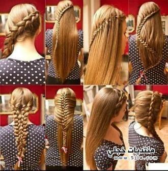 تسريحات الشعر الطويل انواع تسريحات