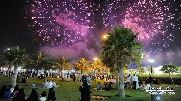 الالعاب النارية الرياض