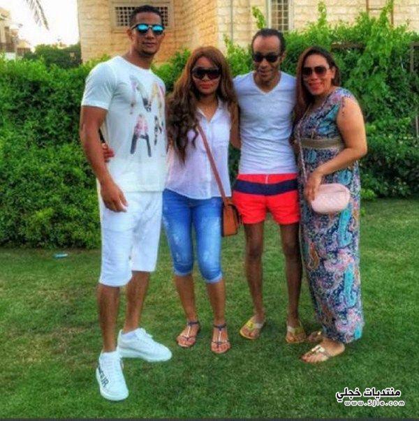 محمد رمضان وعائلته