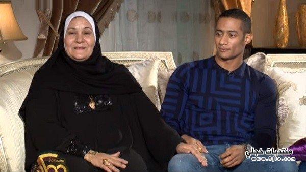 والدة محمد رمضان