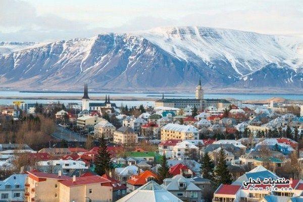 معلومات مدينة ريكيافيك الايسلندية
