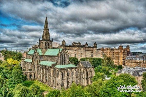 مدينة غلاسكو الاسكتلندية