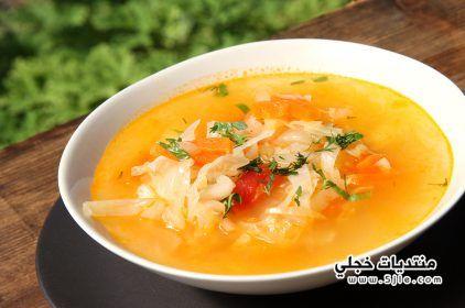 حمية حساء الملفوف