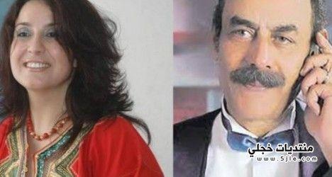 زواج احمد بدير الفنانة المغربية
