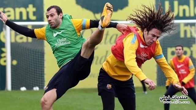 بويول يعود لتدريبات برشلونة عودة