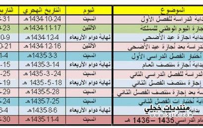 بدايه الدراسه لعام 1434 الدراسه
