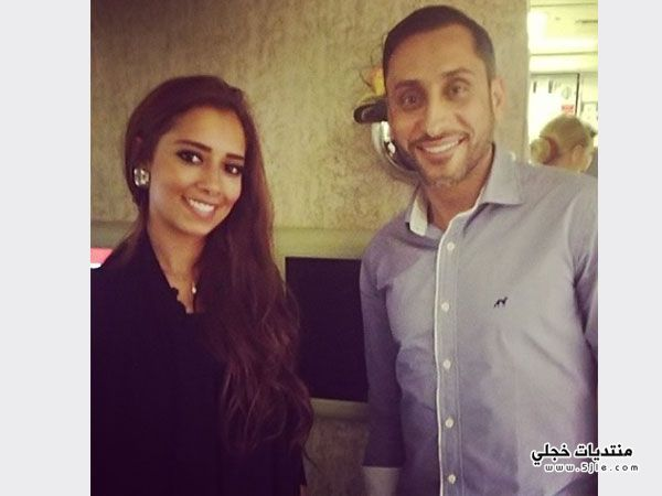 صورة بلقيس فتحي واللاعب سامي
