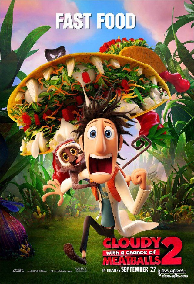 Cloudy with Chance Meatballs لاين