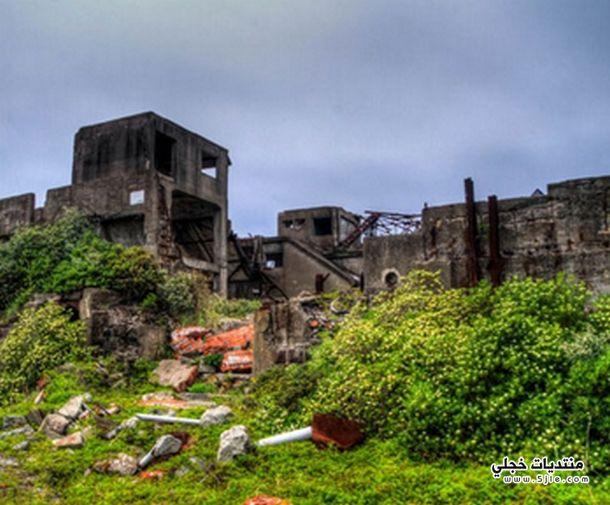 جزيرة الاشباح اليابانية Hashima Island