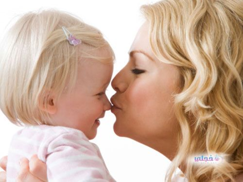 اضرار تقبيل الطفل الفم تقبيل