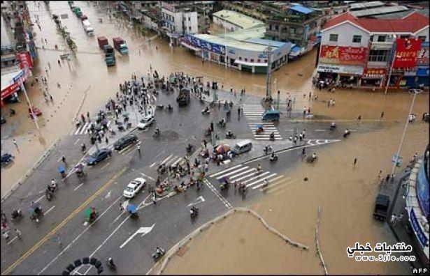 فيضانات الصين 2013 اخبار فيضانات