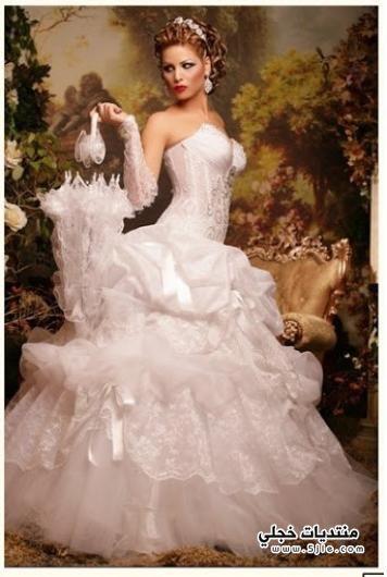 اجمل فساتين الزفاف 2014 احلى