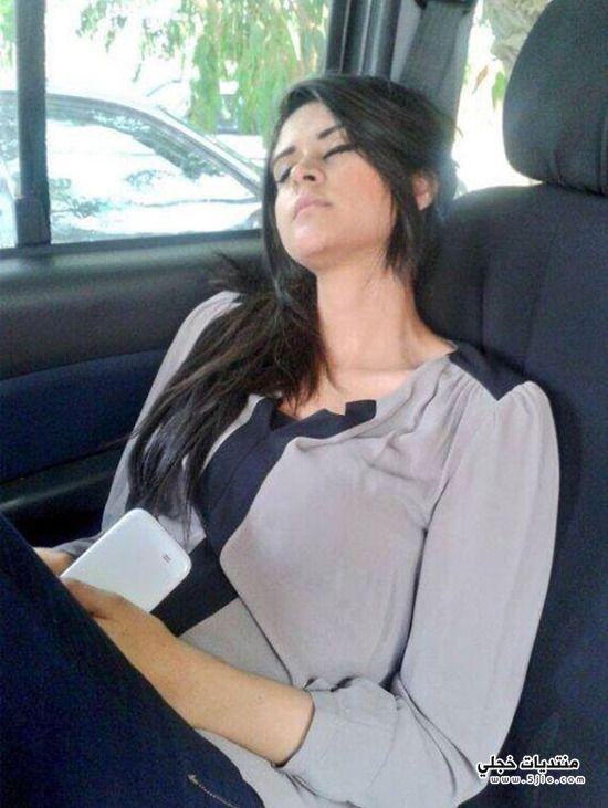 صورة سلمى رشيد نائمة سلمى