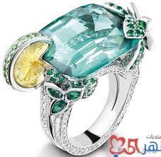 خواتم بفصوص الماس
