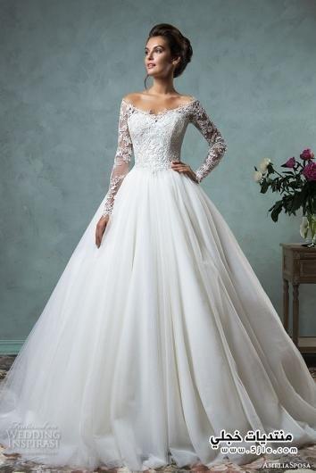 ازياء زفاف 2017