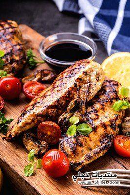 طريقه دجاج مشوي الطريقة اليونانية