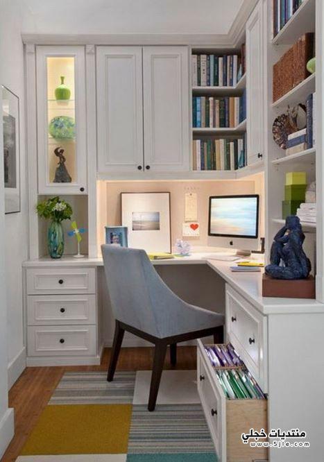 تصاميم مكاتب منزلية 2019