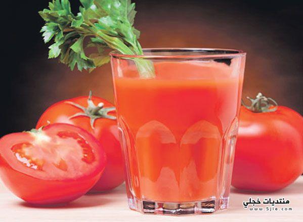 فوائد عصير الطماطم التمارين الرياضية