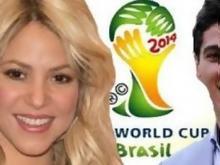 عساف شاكيرا بافتتاح مونديال البرازيل