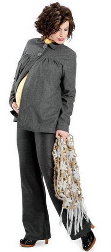 ازياء للحامل شتوية 2014 ملابس
