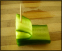 طريقة تزيين الخضار والفواكة تزيين